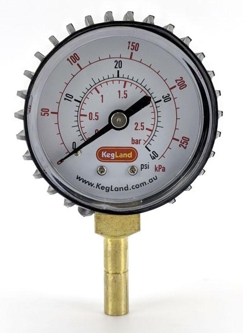 DuoTight 0-40 PSI Pressure Gauge