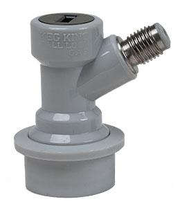 Keg Land Gas Ball Lock Fitting Threaded