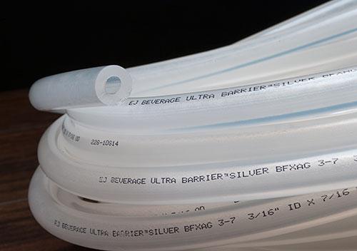 "3/16"" E.J. Beverage Ultra Barrier Silver ®"