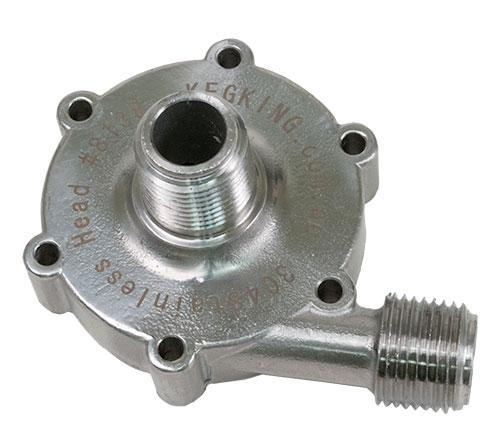 Stainless Pump Head For 25 Watt  Mark II Wort Pump
