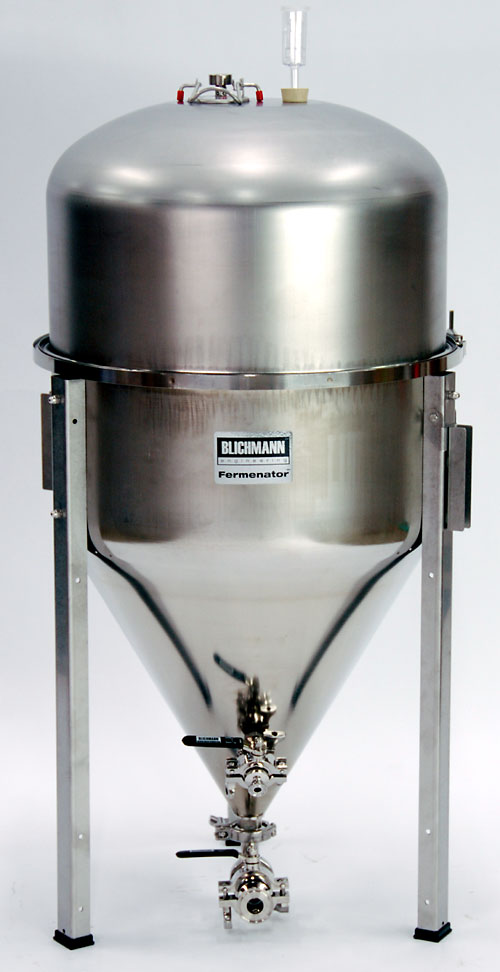 42 Gallon Fermenator With Tri-Clamp Fittings (Actual Cost Shipping Item)
