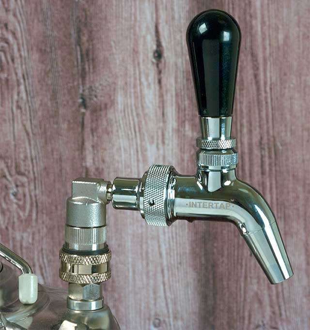 Intertap Stainless Keg Faucet