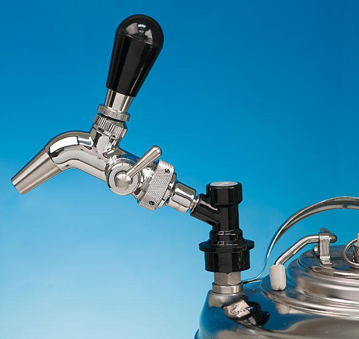 Intertap Flow Control Keg Faucet