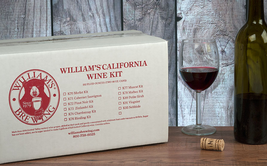 Malbec Wine Making Kit For 5 Gallons
