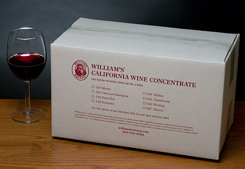 Cabernet Sauvignon Concentrate For 5 Gallons
