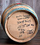 Drained 5 Gallon Balcones Whiskey Barrel