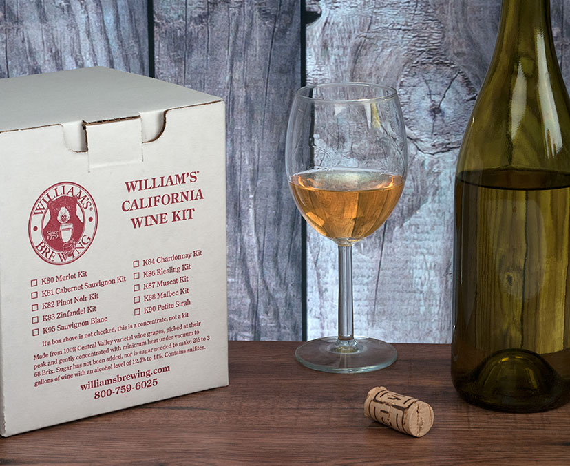 Chardonnay Wine Making Kit For 2.5 Gallons