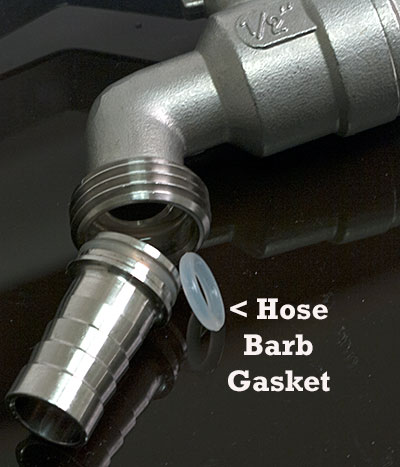 Mash & Boil Replacement Hose Nipple Gasket